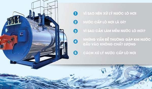 Vì sao phải xử lý nước cấp lò hơi